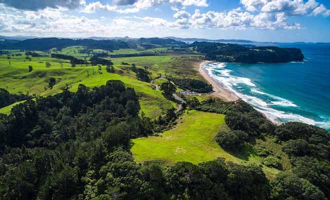 Si les Australiens viennent en vacances en Nouvelle-Zélande, c'est aussi pour fuir la chaleur des mois d'été.