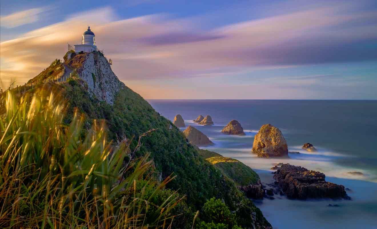Les couchers de soleil sur l'océan sont légendaires, mais il faut passer la nuit dans les environs pour en profiter.