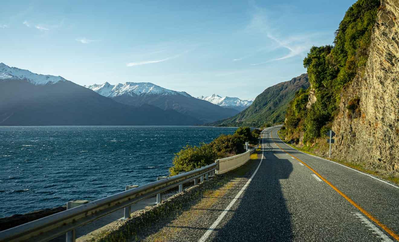 Comble de l'ironie, les lacs Wanaka et Hawea sont encore plus beaux que les étapes à venir.