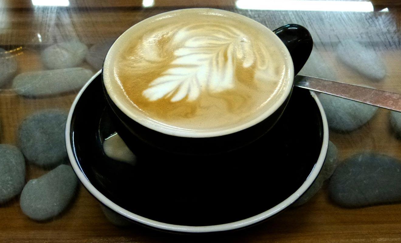 Le Pancake Rocks Café ne brille pas particulièrement par sa qualité, mais vous pouvez profiter de la connexion WiFi pour expédier vos dernières photos...