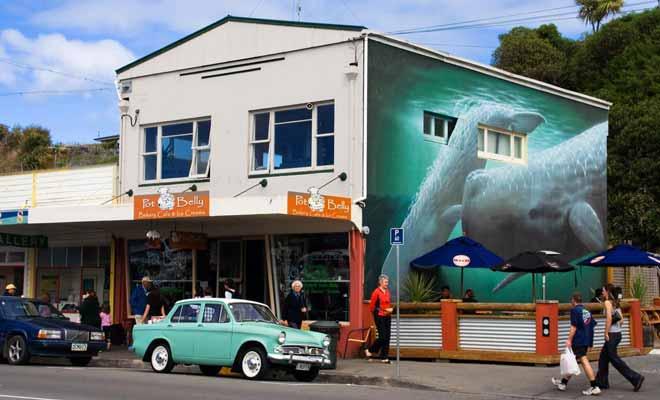 Les Néo-Zélandais ont un amour pour les vieilles voitures qu'ils entretiennent ou restaurent. Cette passion apporte une touche de nostalgie et beaucoup de charme aux villages.