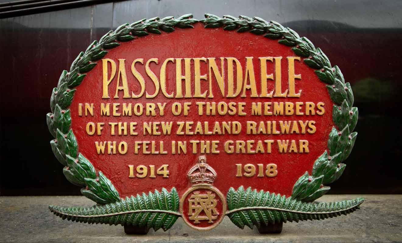 Le Marlborough Flyer est surnommé Passchendaele en homme à la célèbre bataille des Flandres.