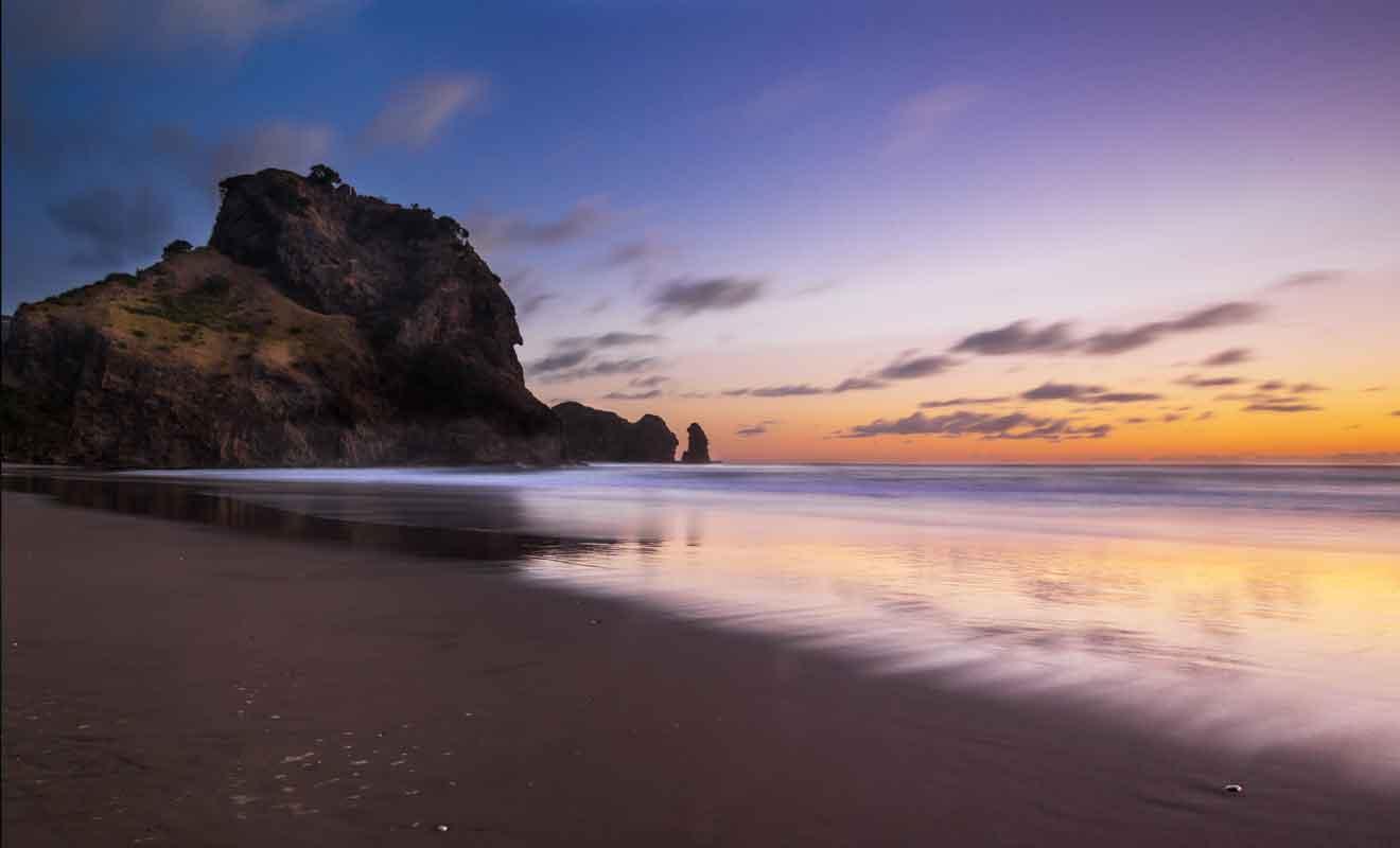 De par sa proximité avec Auckland, Piha est aisément accessible en voiture ou camping-car.