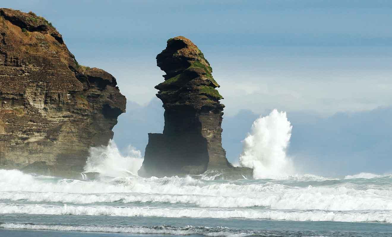 Il vaut mieux ne pas se lancer dans une randonnée lorsque la marée remonte.