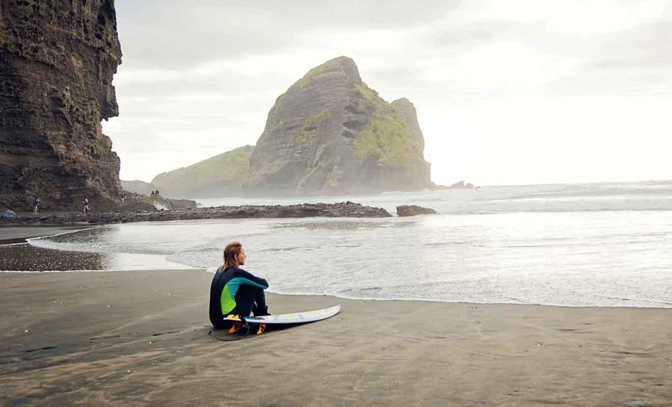 Même si ce n'est pas le meilleur spot de surf du pays, Piha demeure exceptionnelle.
