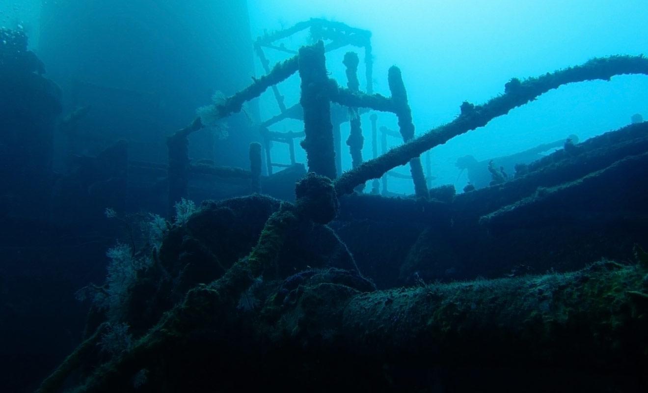 La plongée sur épave ne présente aucun risque si vous ne pénétrez pas à l'intérieur de l'épave et si vous vous contentez de l'observer de l'extérieur. La plongée est fantastique !
