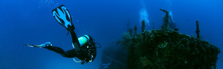 Venez faire de la plongée sous-marine sur épave.