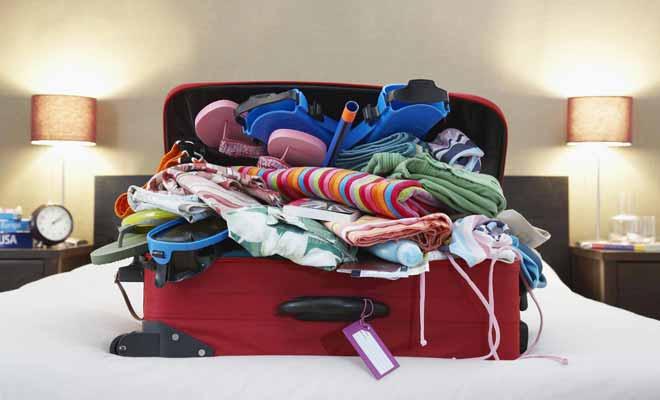 Vous aurez souvent l'occasion de faire des lessives sur place. Une valise trop pleine est pénible à déplacer, et augmente la consommation d'essence.