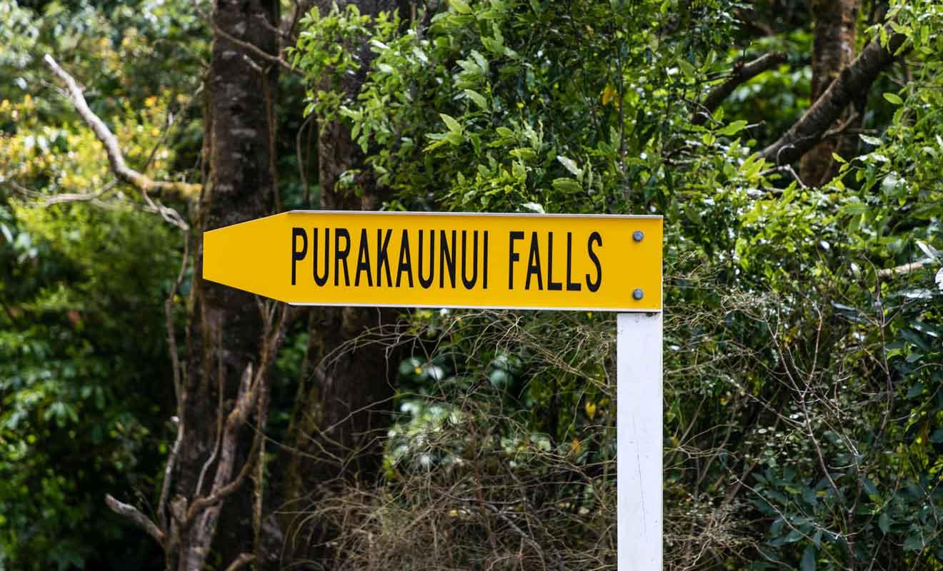 Les Purakaunui Falls font partie des nombreuses escales sur la Southland Scenic Route.