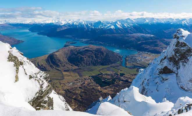Même si la Nouvelle-Zélande semble proche du pôle sud, son climat n'a rien de polaire, même en hiver !