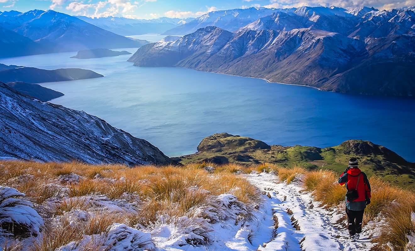 Venez visiter la Nouvelle-Zélande en dehors de la haute saison, et vous aurez le pays pour vous tout seul !