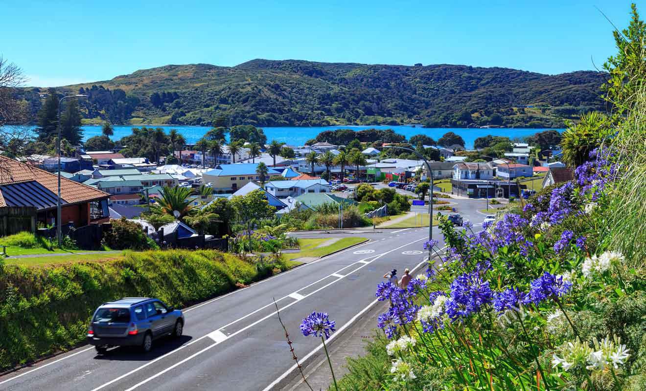 Il suffit de deux heures de route pour rejoindre Raglan depuis Auckland.