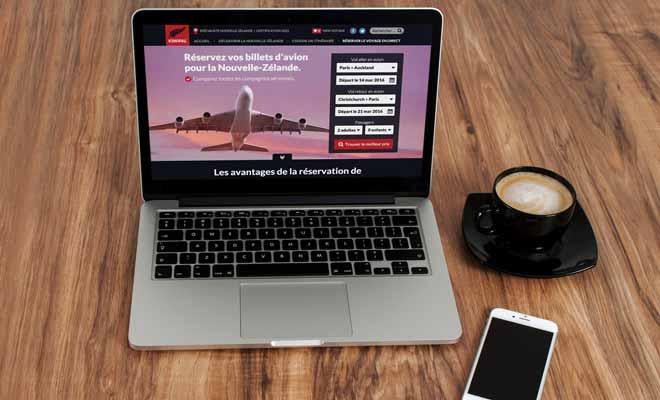 Kiwipal met à votre disposition un formulaire pour obtenir les tarifs des principales compagnies aériennes aux dates qui vous intéressent.