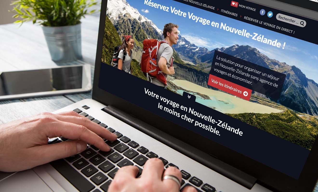 Kiwipal vous propose tous les services pour vous permettre de réserver vous-même votre séjour en Nouvelle-Zélande. De la sorte, vous ne payez pas de frais d'agence et pouvez espérer économiser jusqu'à 30% sur votre budget initial.