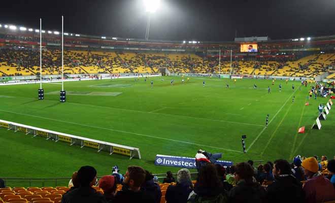 Si les légendaires Allblacks ne sont pas sur la pelouse, et s'il ne s'agit pas d'un match décisif, les stades sont rarement pleins en Nouvelle-Zélande. Dommage pour l'ambiance !