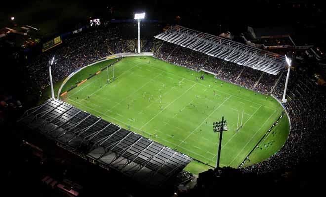 L'Eden Park d'Auckland est le plus grand stade de Nouvelle-Zélande et il peut accueillir 60.000 spectateurs assis lors de grandes rencontres internationales de Rugby ou de Cricket.