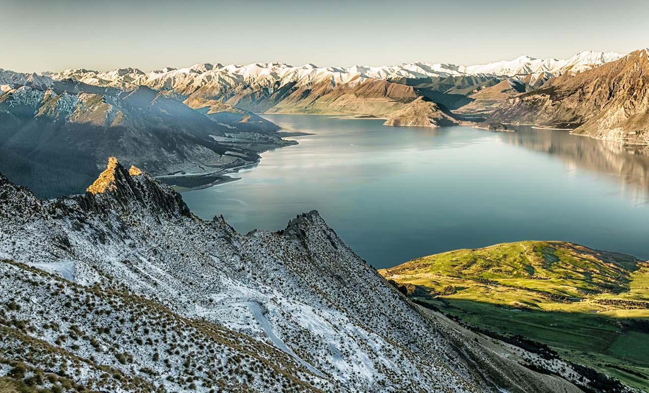 Les saisons sont inversées de l'autre côté du globe, et quand c'est l'été en Europe, c'est l'hiver Nouvelle-Zélande.