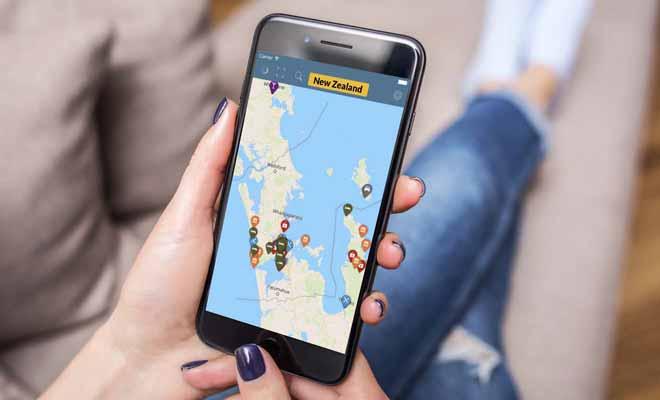 Kiwipal a testé les applications mobiles sur la Nouvelle-Zélande et retenu celle de Campermate.