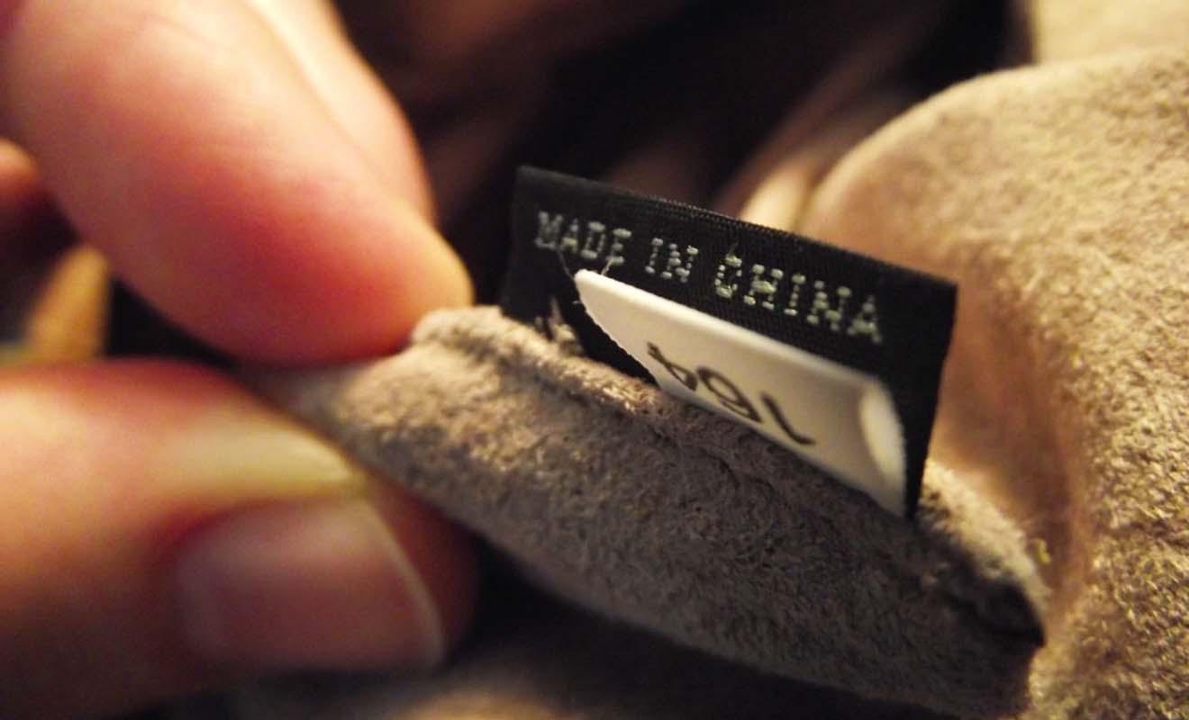 Regardez bien les étiquettes sur les produits avant d'acheter, surtout si vous voulez éviter les produits chinois.