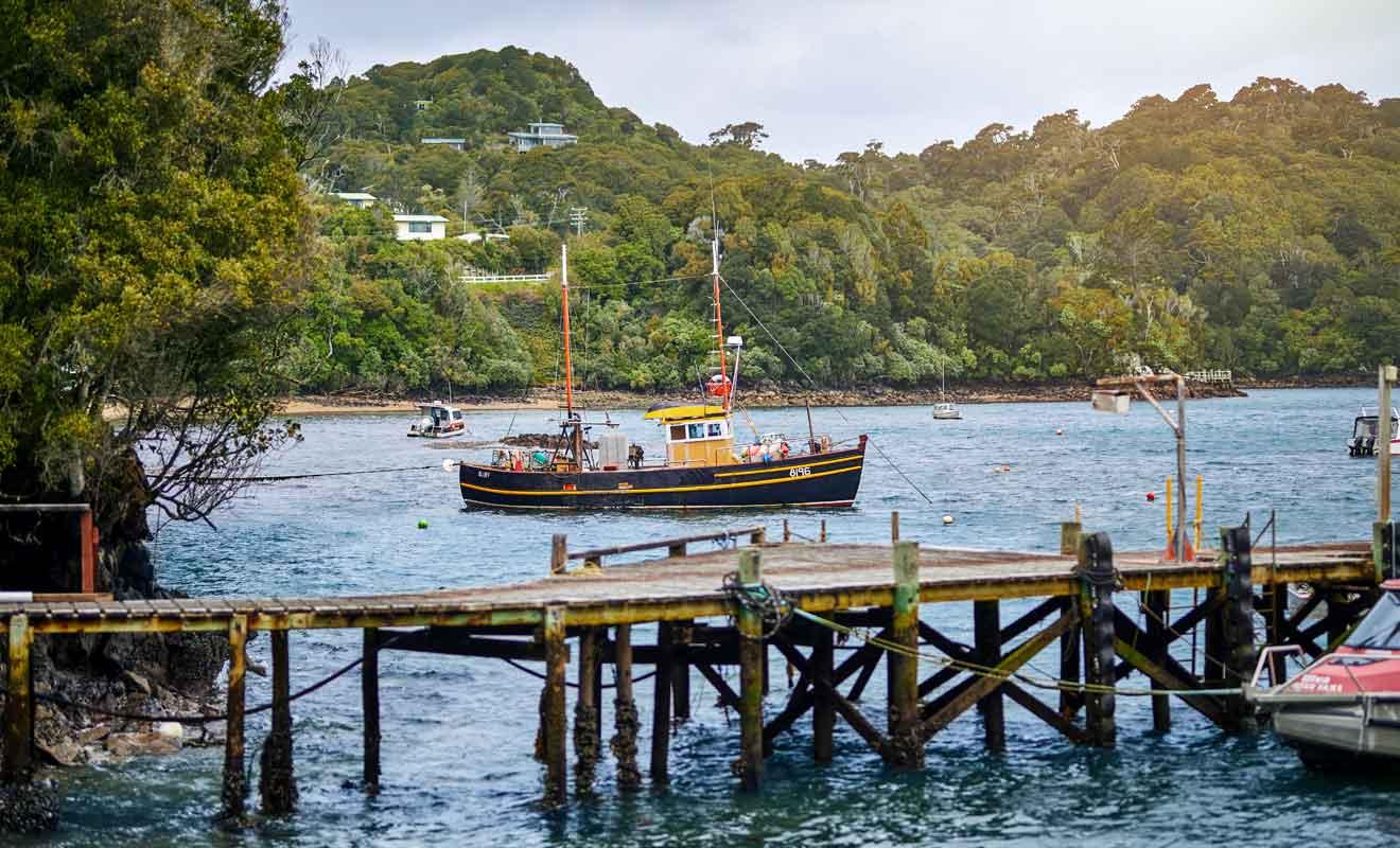 Stewart Island n'a guère changée depuis l'arrivée des premiers colons Occidentaux en 1809.