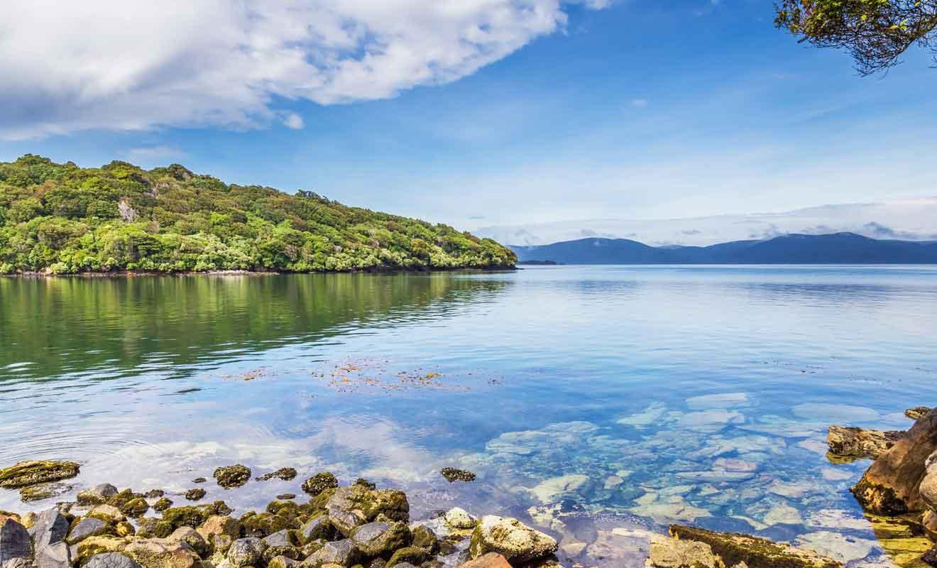 Avec ses eaux turquoise et sa végétation luxuriante, Stewart Island est une agréable surprise pour les voyageurs qui cherchent le dépaysement.