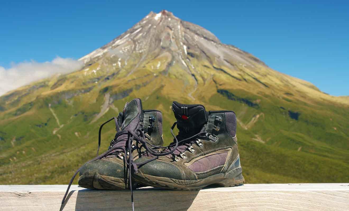 Les chaussures de randonnées sont indispensables !