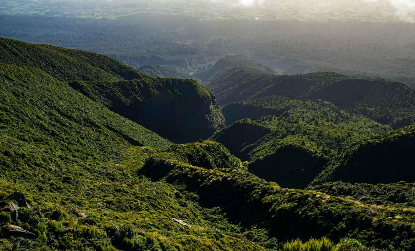 La dernière éruption du volcan date probablement du 18e siècle.