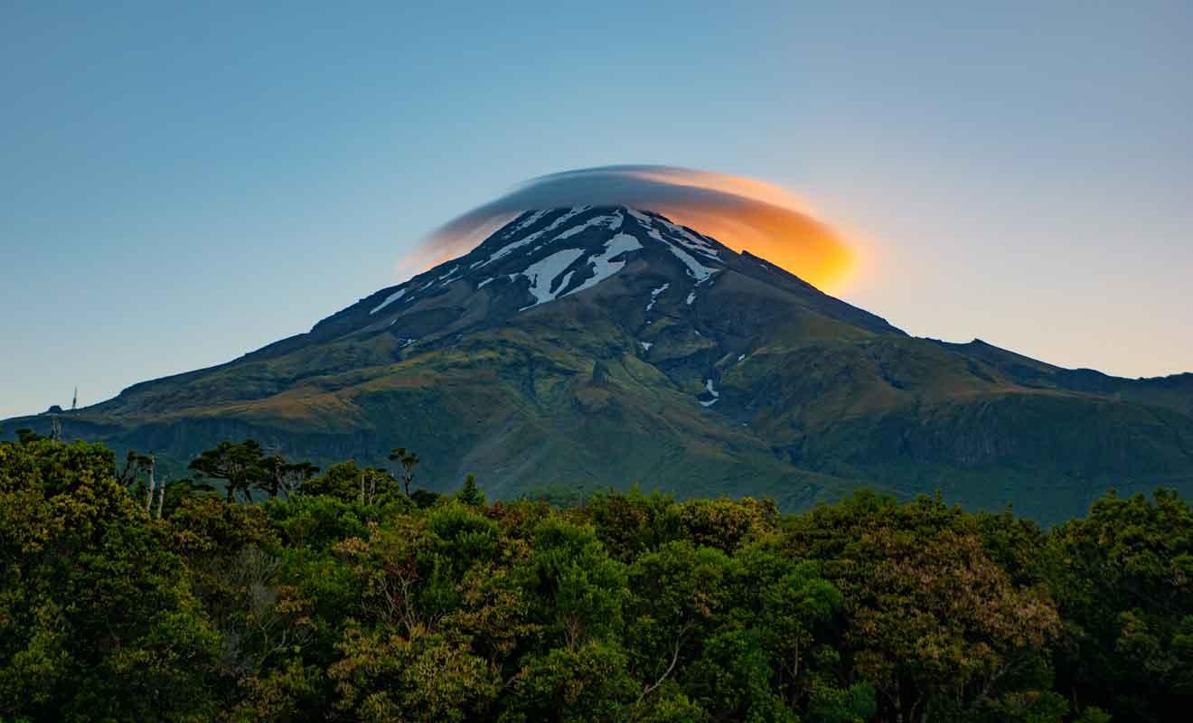 Le volcan prépare sa revanche d'après la tradition maorie.