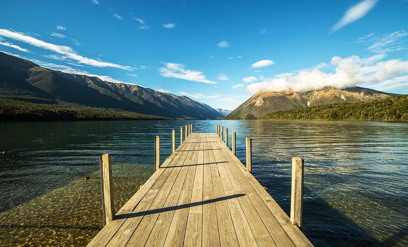 Le parc de Kahurangi et celui des lacs Nelson sont moins touristiques, mais aussi beaux que celui d'Abel Tasman.