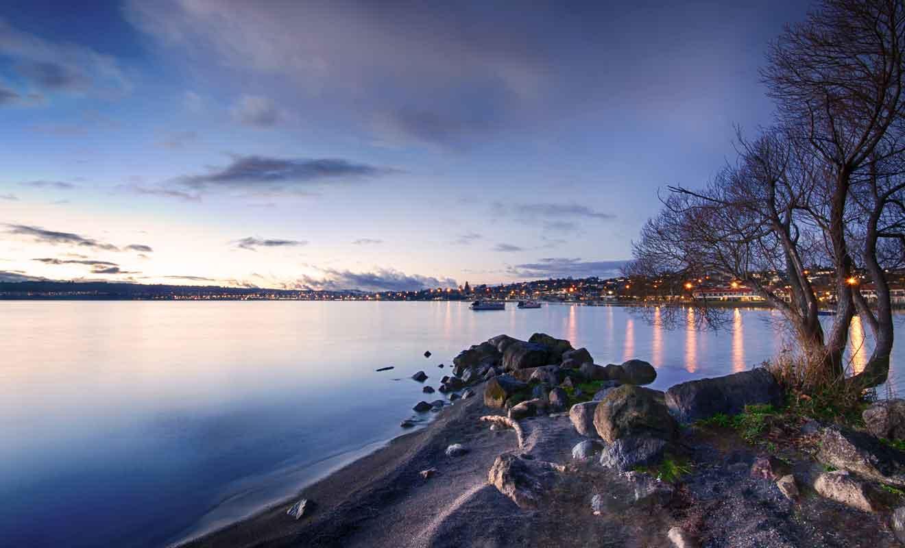 Ne serait-ce que pour la vue sur le lac, vous devez faire escale à Taupō.