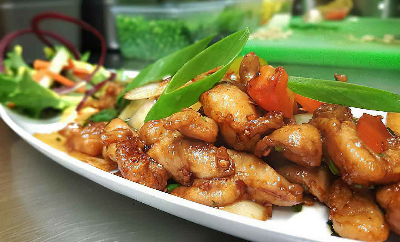 Le Malabar est un véritable restaurant gastronomique.