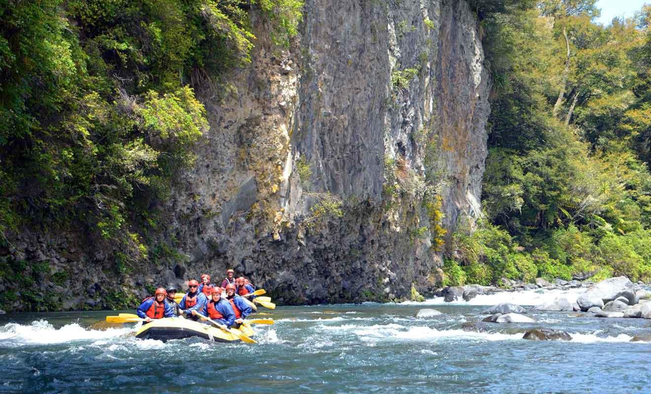 De toutes les activités de la région, le rafting est sans aucun doute la plus intense.