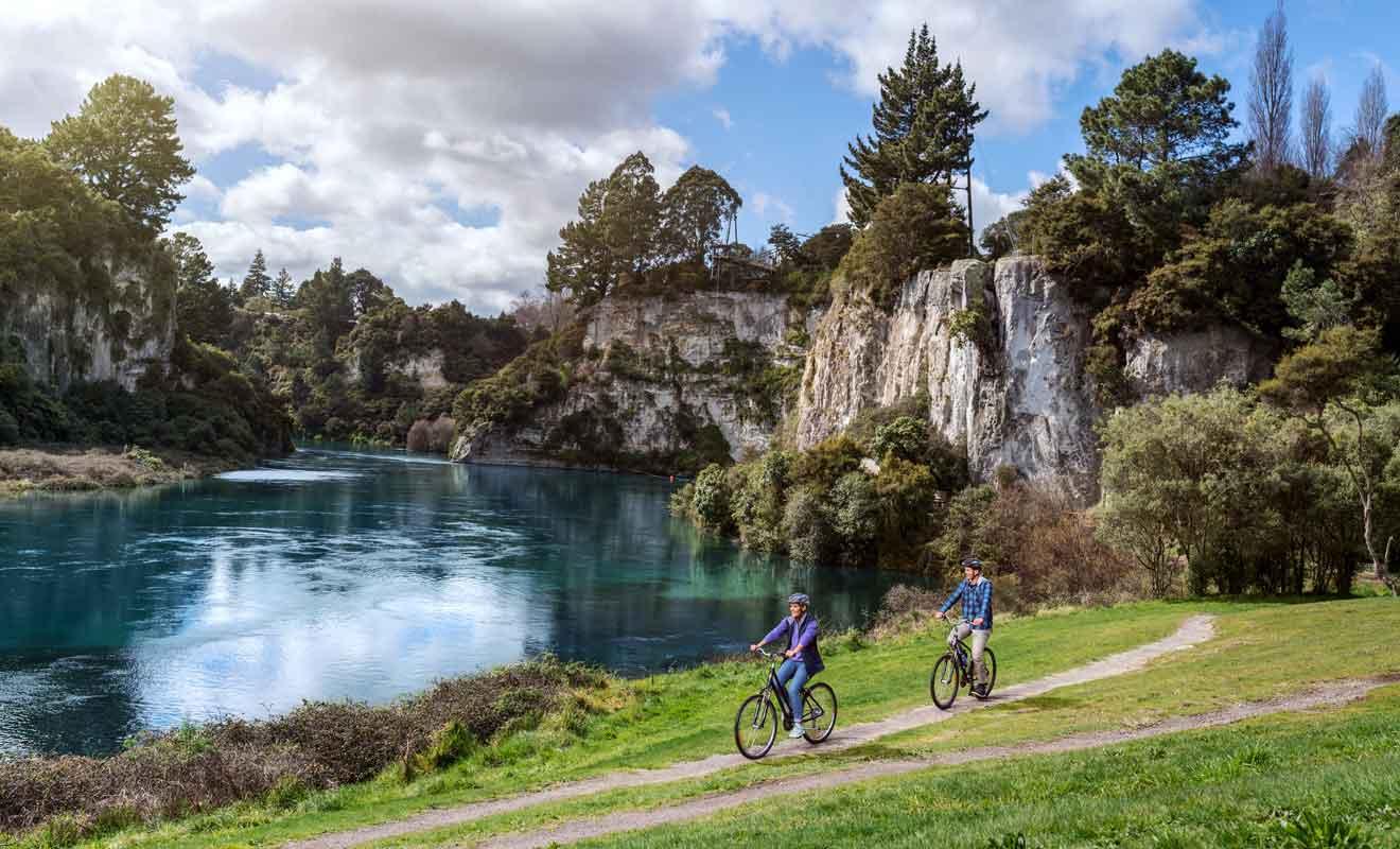 Découvrez The Great Lake Trails, Timber Trail et Waikato River Trail.