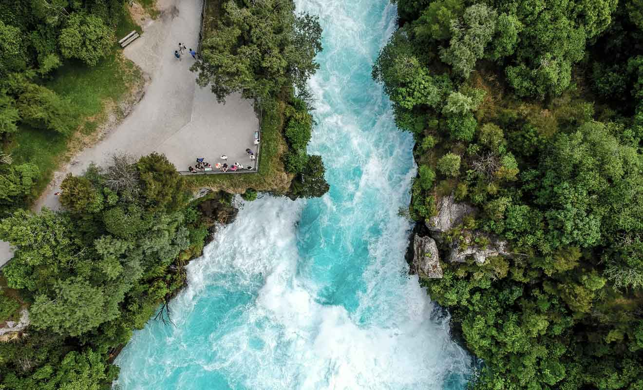 Une partie du film de Peter Jackson a été tourné sur la rivière waikato.