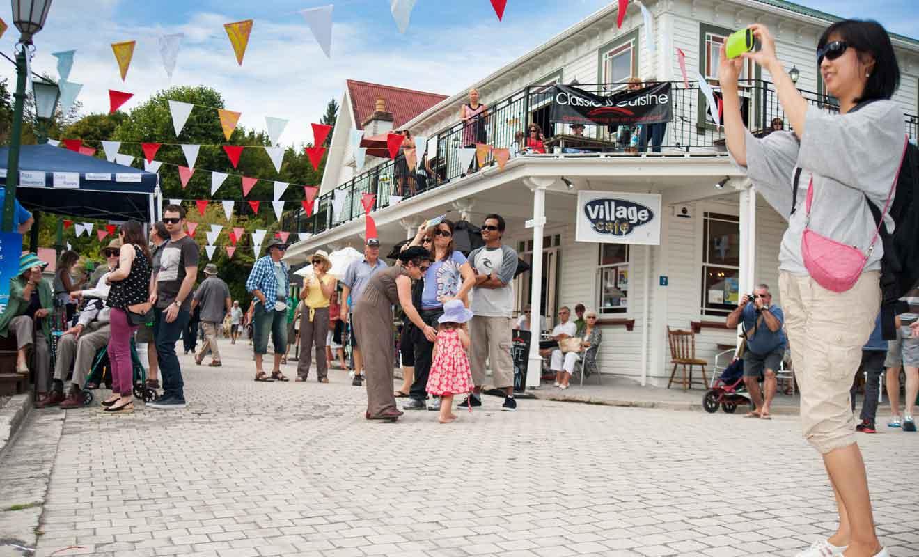 L'Historic Village est indéniablement une attraction touristique, mais l'atmosphère est plaisante et vous ferez quelques belles photos.