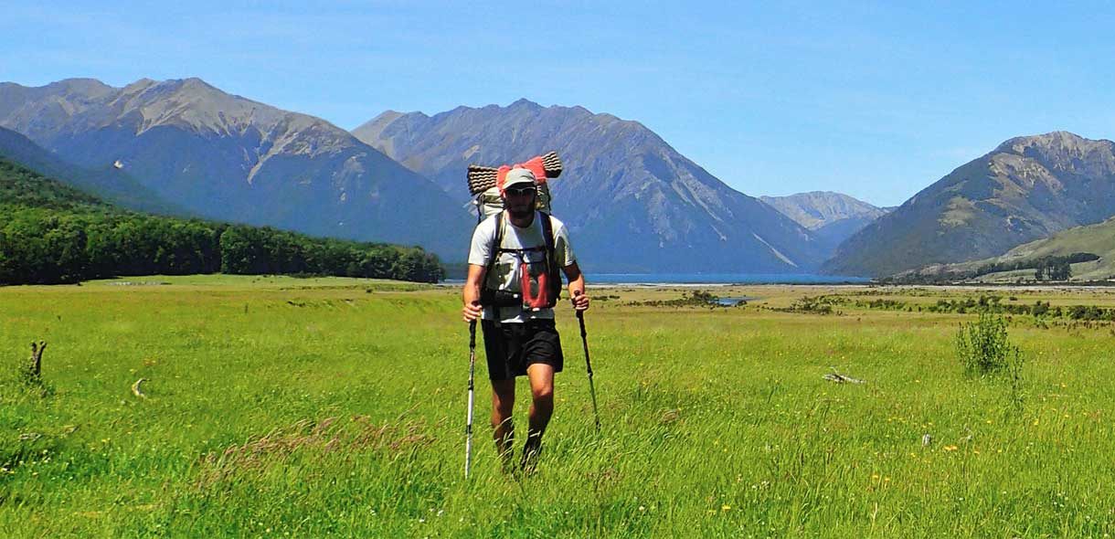 La piste de Te Araroa passe par le Tongariro Crossing.