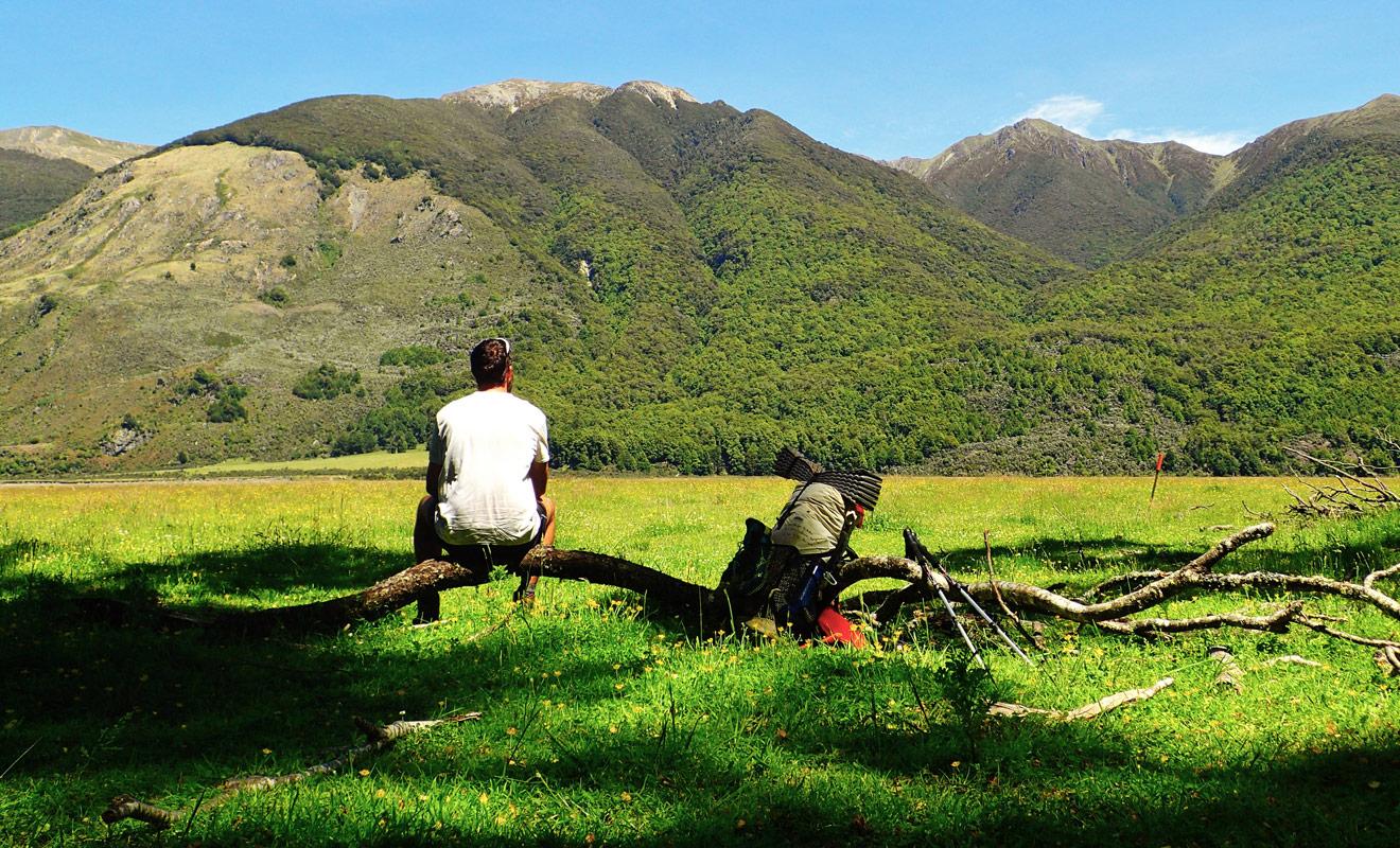 Après avoir parcouru près de 3000 km à pied, Loïc se sent capable d'affronter des randonnées encore plus difficiles.