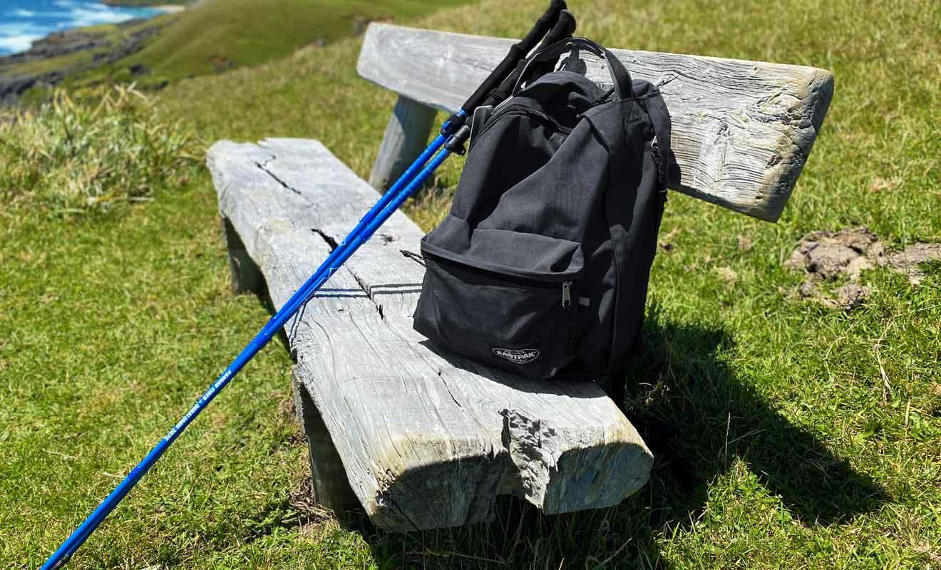 Les bâtons de marche réduisent la fatigue comme les risques de blessure.