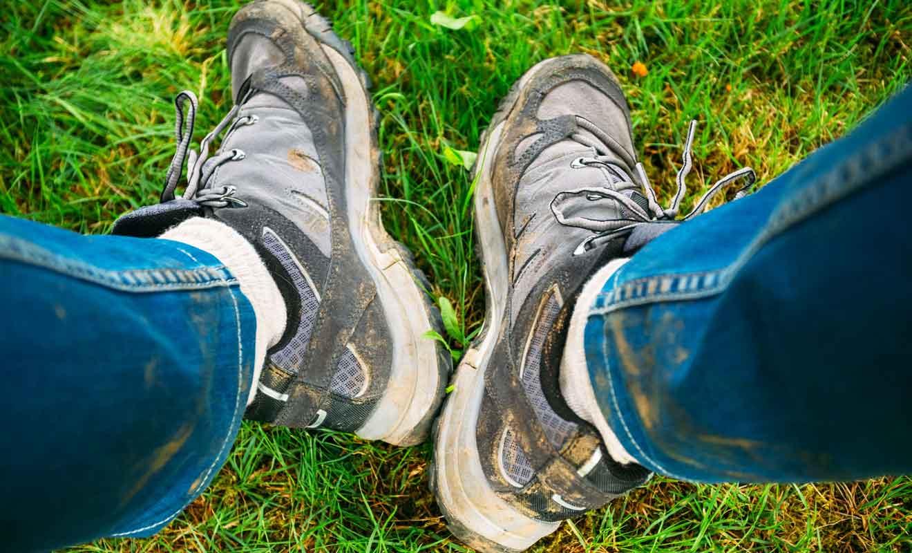 Les chaussures de randonnée sont indispensables pour visiter Te Hapu.