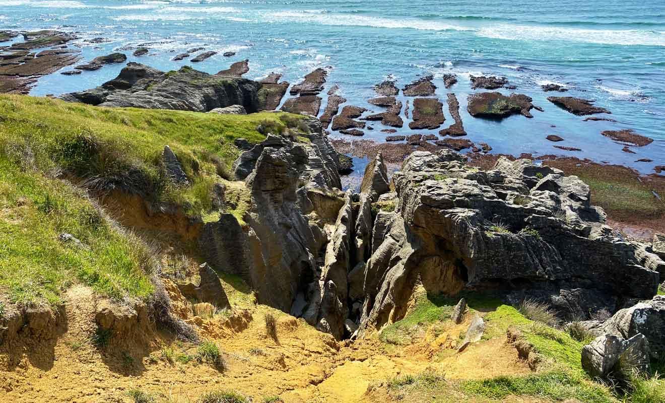 Te Hapu possède six plages différentes avec des formations rocheuses exceptionnelles.