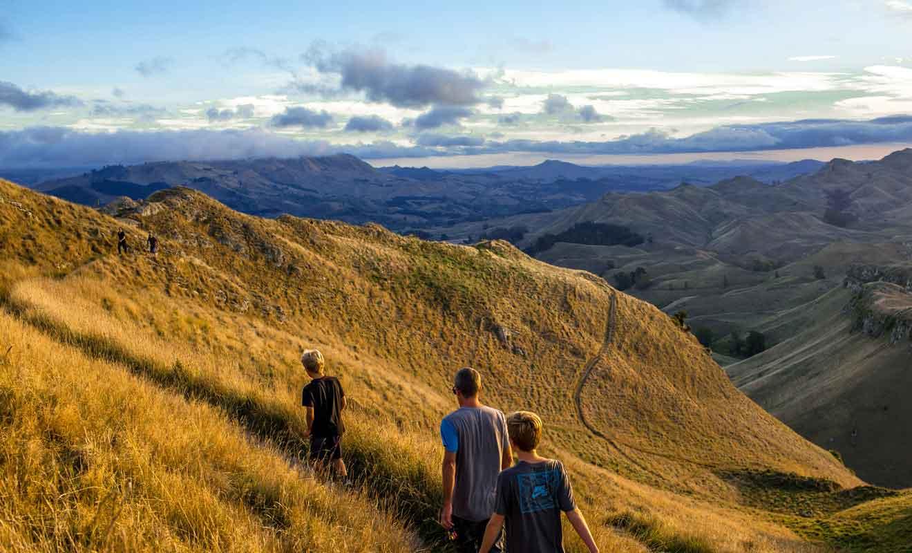 Vous pouvez également rejoindre le sommet directement par la route.