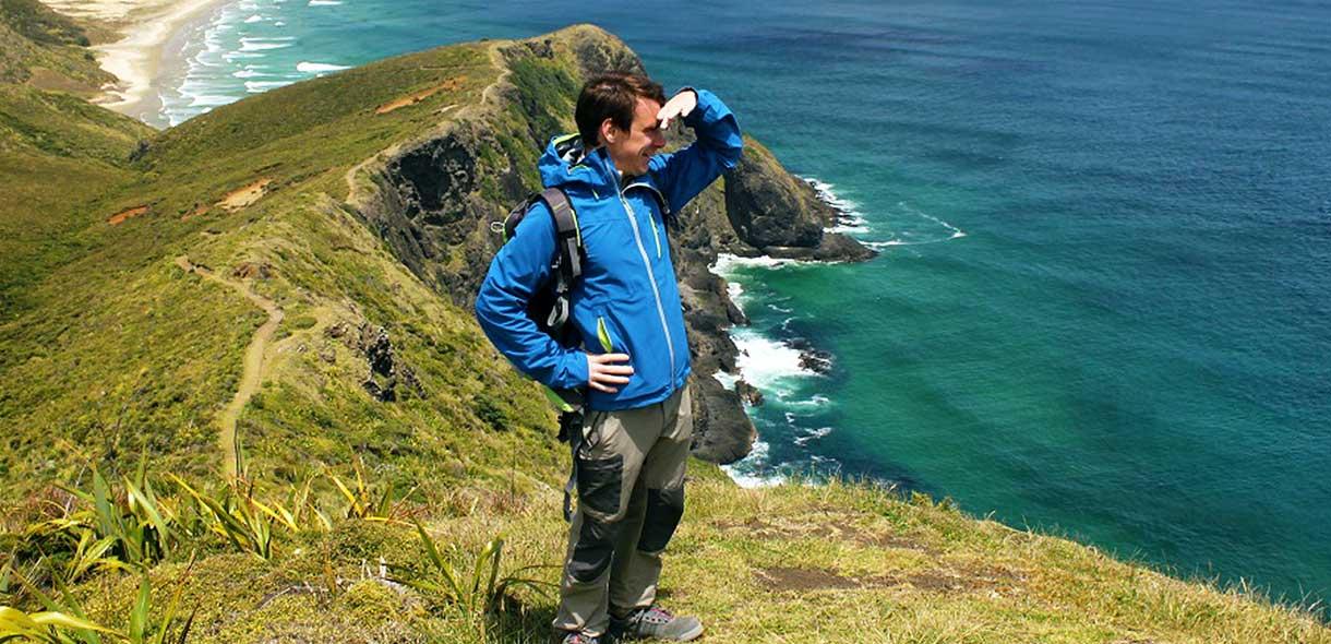 Gaël a visté l'île du Nord et le Cape Reinga.