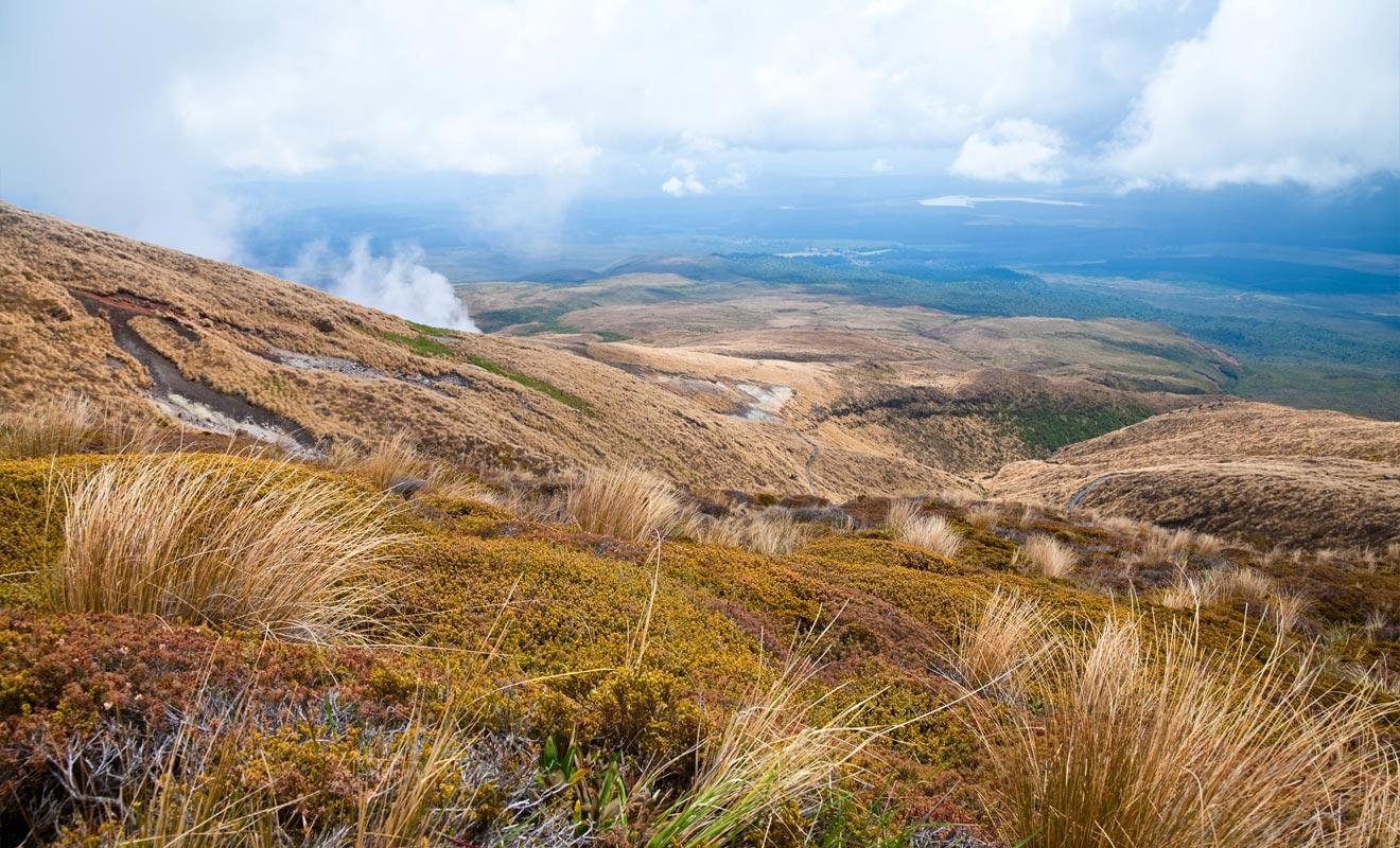 Les sources d'eau chaudes de Ketetahi sont situées sur un sol sacré, il n'est pas permis de les approcher. D'ailleurs, toute cette partie du voyage se déroule sur un territoire maori, dont l'accès est simplement toléré.