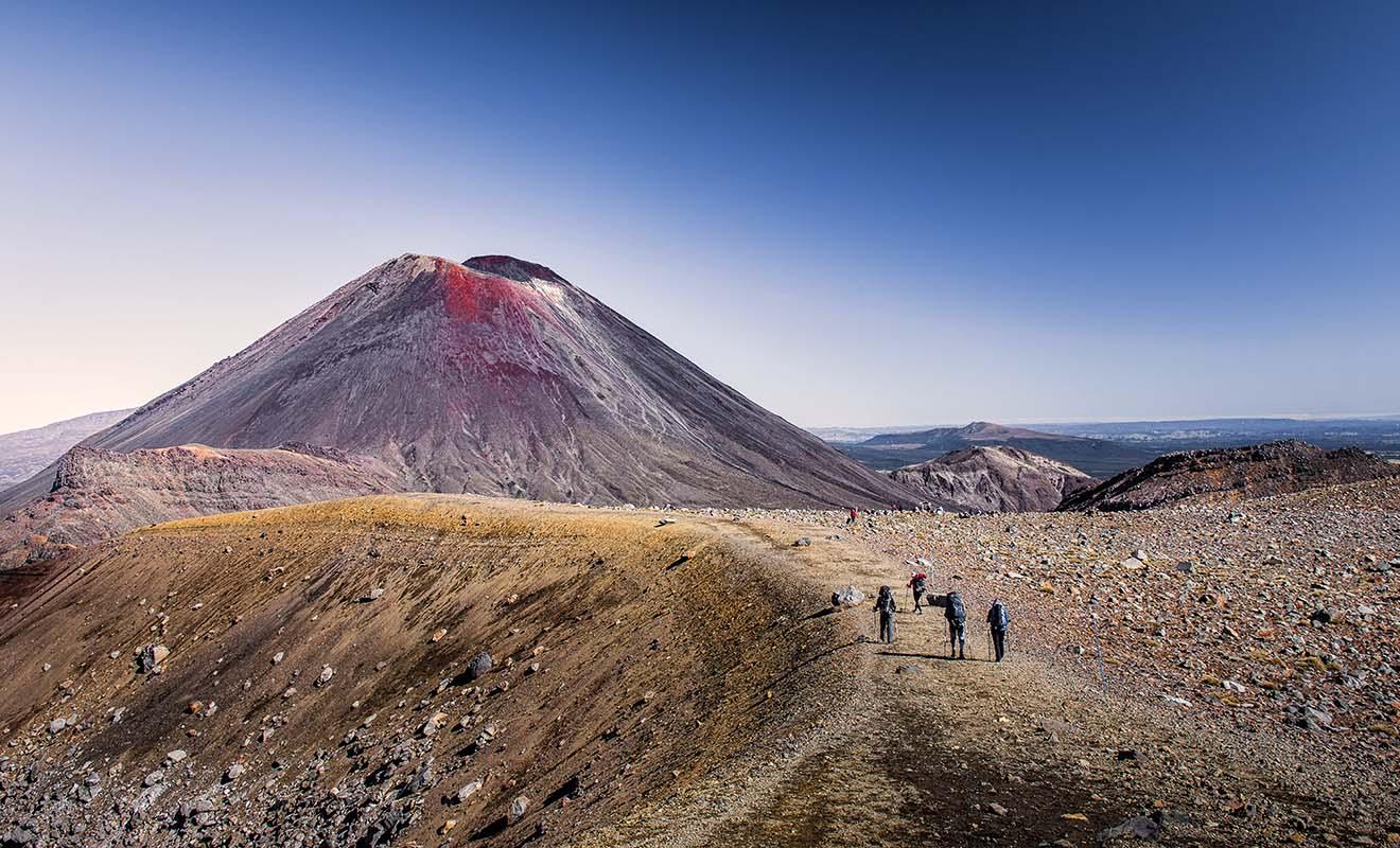 Le parc national du Tongariro a servi de lieu de tournage pour le Mordor dans le Seigneur des anneaux. Si le seigneur Sauron n'existe pas, en revanche la montagne du destin est bel et bien un volcan dans la réalité.