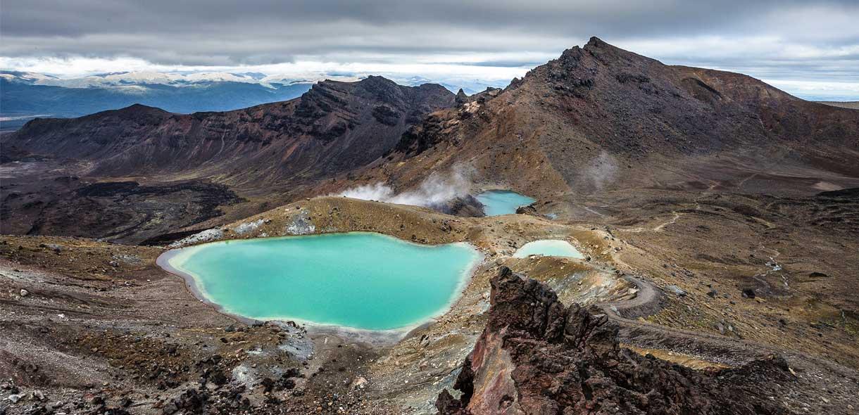 Le Tongariro Crossing est le trek le plus célèbre de Nouvelle-Zélande.