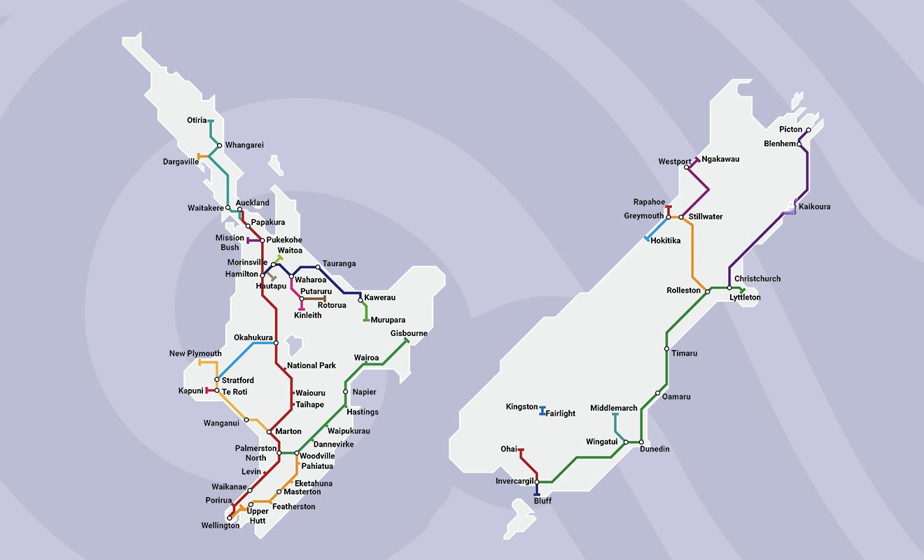 Les autres lignes du réseau ferroviaire ne sont pas touristiques, et elles sont moins susceptibles de vous intéresser.