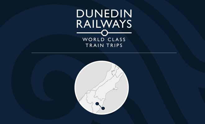 Dunedin, capitale de la région de l'Otago sert de point de départ pour la visite des gorges de Taieri en train.