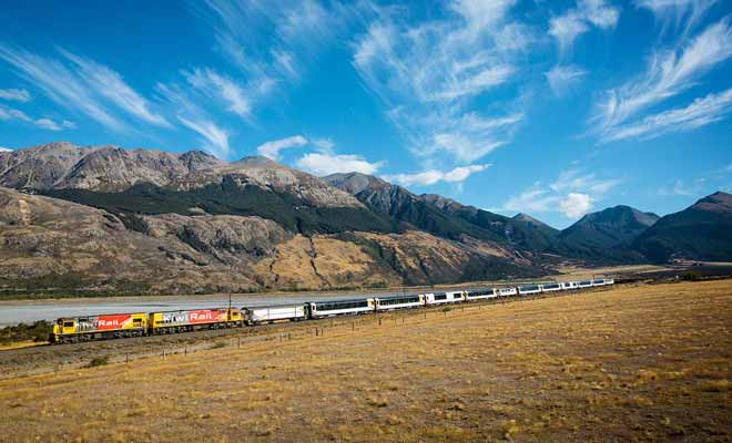 Si vous ne devez emprunter qu'un seul train en Nouvelle-Zélande, ce devrait être le Tranzalpine !