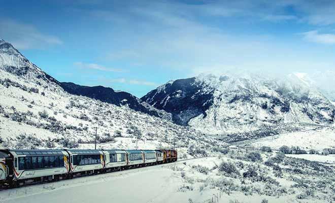 Vous pouvez même emprunter le train en hiver, avec un peu de chance les paysages seront sous la neige et ils seront encore plus beaux.