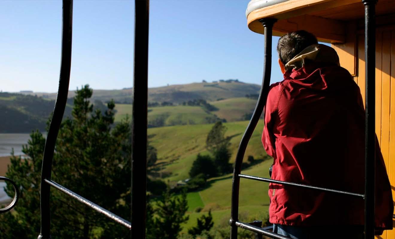 Par ce que vous n'aurez pas de vitres devant l'objectif, les wagons ouverts sont idéals pour prendre de belles photos du paysage.